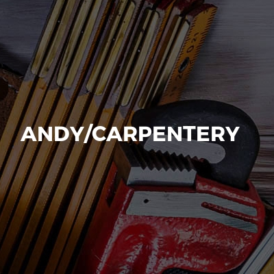 Andy/carpentery