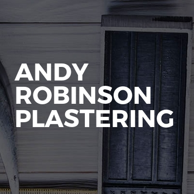 Andy Robinson Plastering