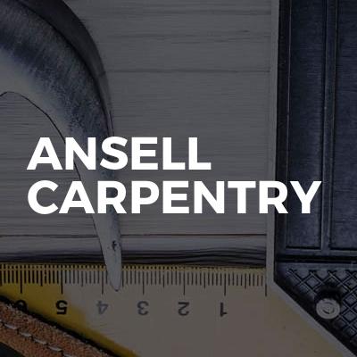 Ansell Carpentry