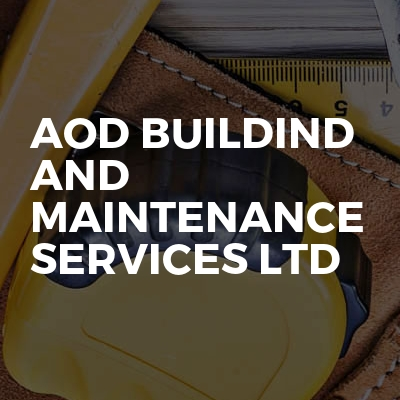 AOD Buildind and maintenance services ltd