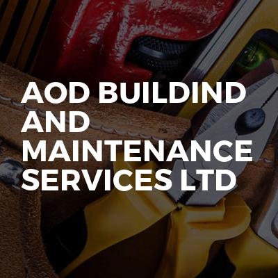 AOD Buildind and maintenance services ltd