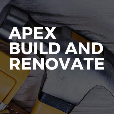 Apex build and renovate