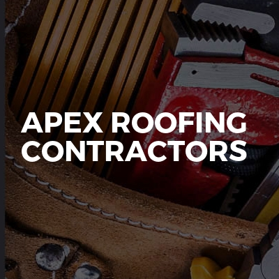 Apex roofing contractors