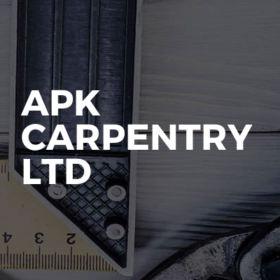 APK Carpentry ltd
