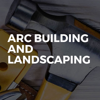 ARC building and landscaping
