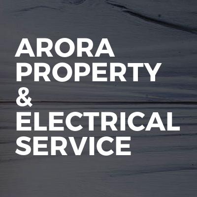 arora property & electrical service