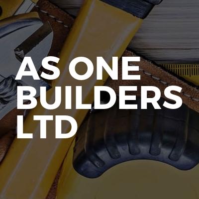 AS ONE BUILDERS LTD