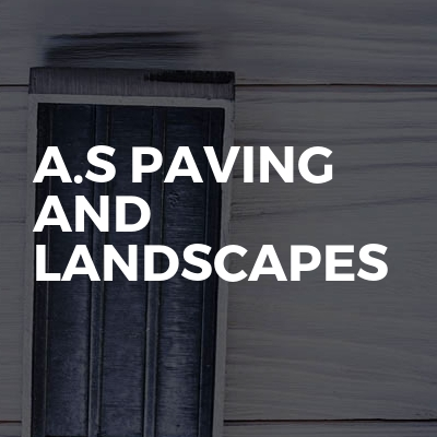 A.S Paving And Landscapes