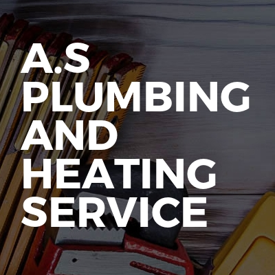 A.S Plumbing and heating service