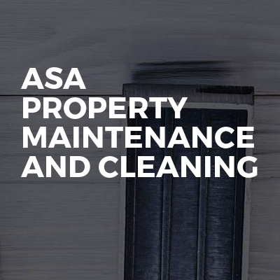ASA property maintenance and cleaning