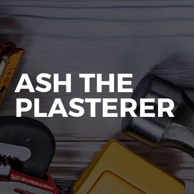 Ash the plasterer