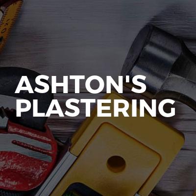 Ashton's plastering