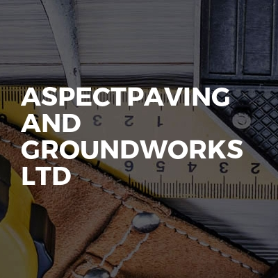 Aspectpaving and groundworks ltd