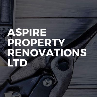 Aspire property renovations Ltd
