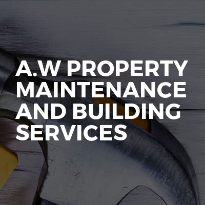 A.w property maintenance and building services
