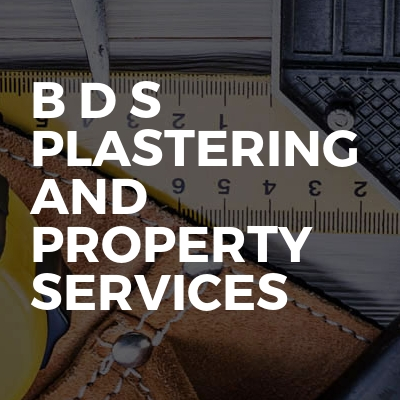 B D S plastering and property services