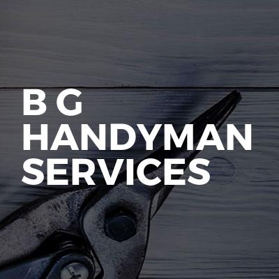 B G Handyman Services