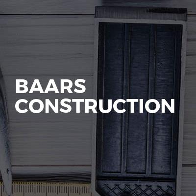 Baars Construction