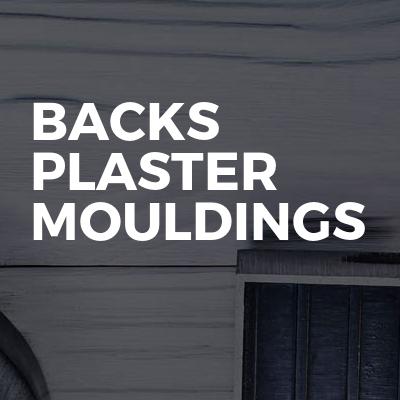 BACKS PLASTER MOULDINGS