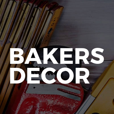 Bakers decor