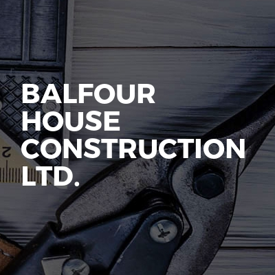 Balfour House Construction Ltd.