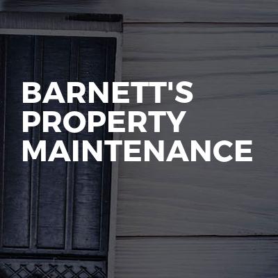 Barnett's Property Maintenance