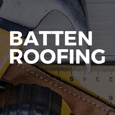 Batten roofing