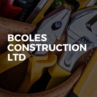 Bcoles construction Ltd