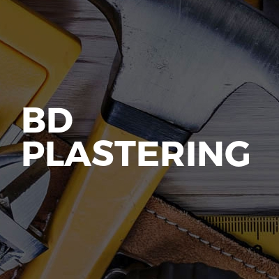Bd plastering