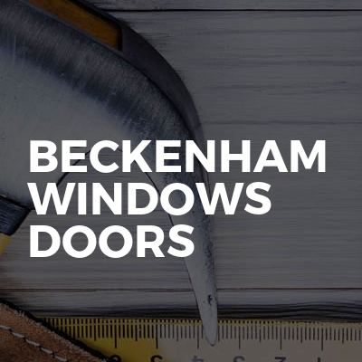 Beckenham windows doors