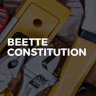 Beette constitution