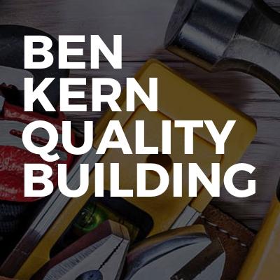 Ben Kern Quality Building