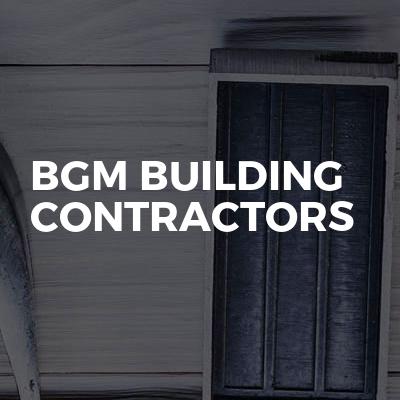 Bgm building contractors