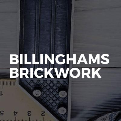 Billinghams Brickwork