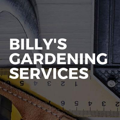 Billy's gardening services