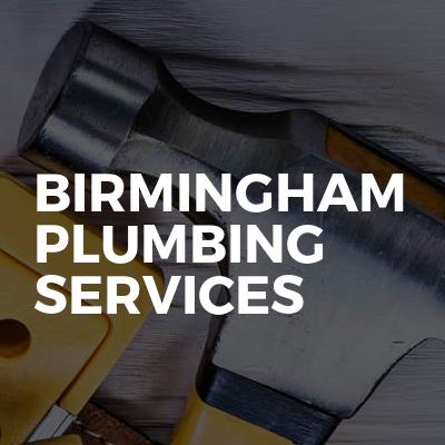 Birmingham plumbing services