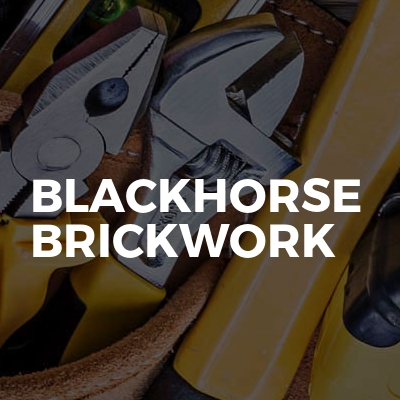 Blackhorse brickwork