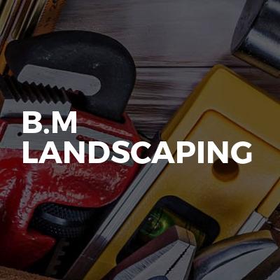 B.m Landscaping