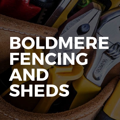 Boldmere Fencing and Sheds