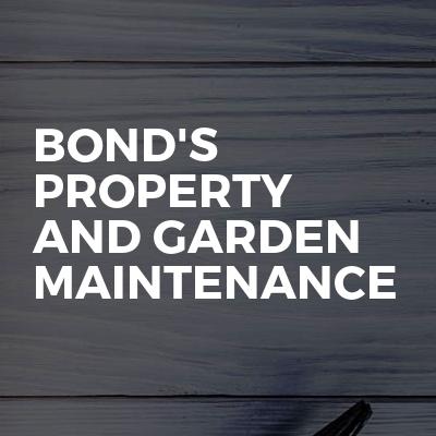 Bond's Property And Garden Maintenance