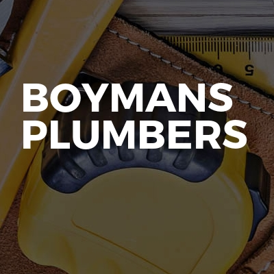 Boymans plumbers