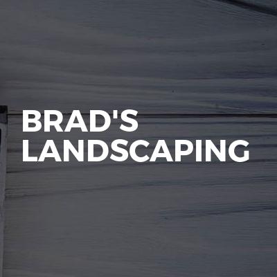 Brad's landscaping