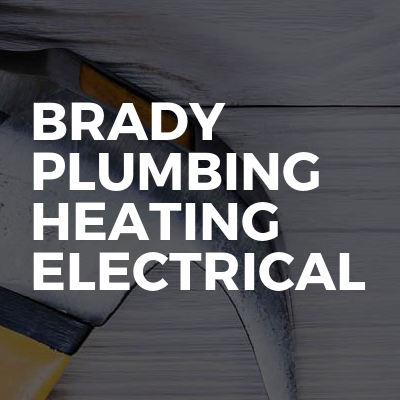 Brady plumbing heating electrical