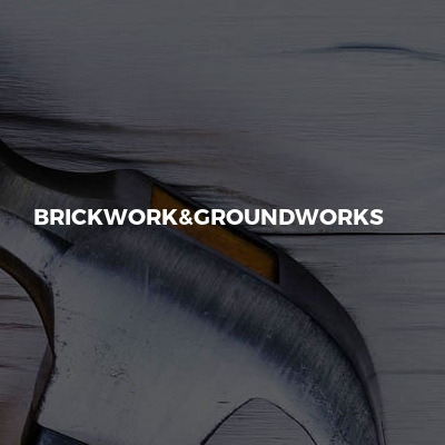Brickwork&groundworks