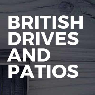 British Drives and patios