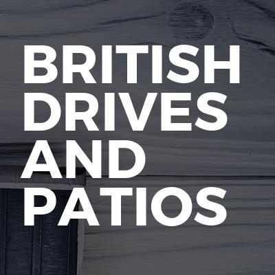 British Drives and patios