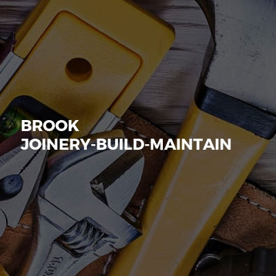 Brook Joinery-Build-Maintain