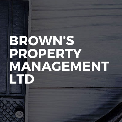 Brown's Property Management Ltd
