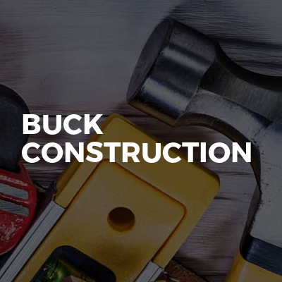Buck construction
