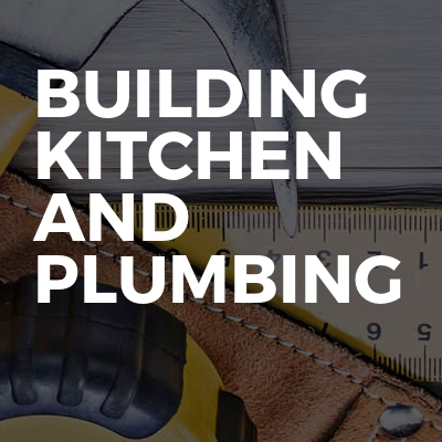 Building Kitchen And Plumbing